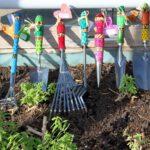 Outils de jardin ‒ action pour les membres