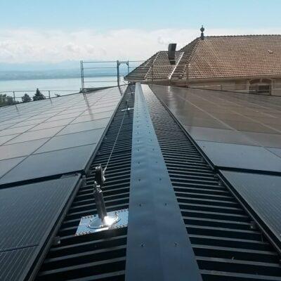 La deuxième centrale solaire de la coopérative solaire Coopsol est en service
