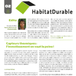HabitatDurable 2   juin/juillet 2010