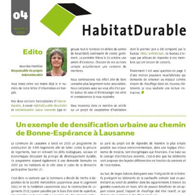 HabitatDurable 4 | novembre 2010