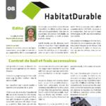 HabitatDurable 8 | juin 2011