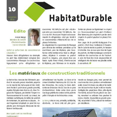 HabitatDurable 10 | novembre 2011