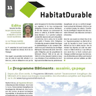 HabitatDurable 11   décembre 2011