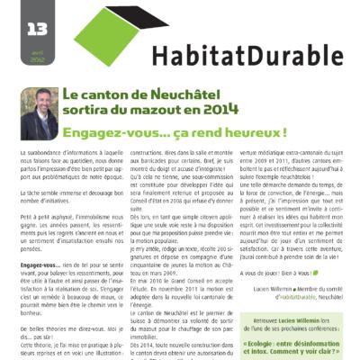 HabitatDurable 13 | avril 2012
