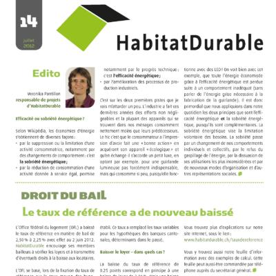 HabitatDurable 14 | juillet 2012