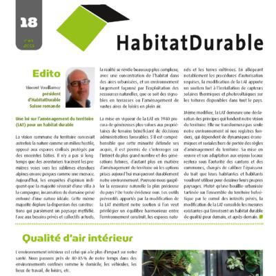 HabitatDurable 18 | mars 2013