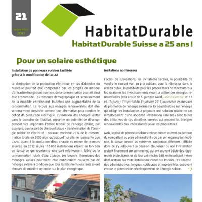 HabitatDurable 21 | septembre 2013