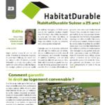 HabitatDurable 23 | décembre 2013