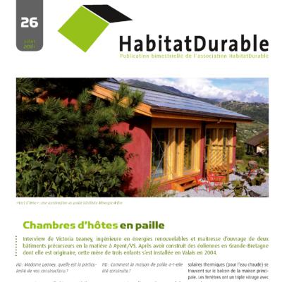 HabitatDurable 26 | juillet 2014