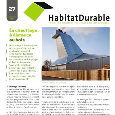HabitatDurable 27 | septembre 2014