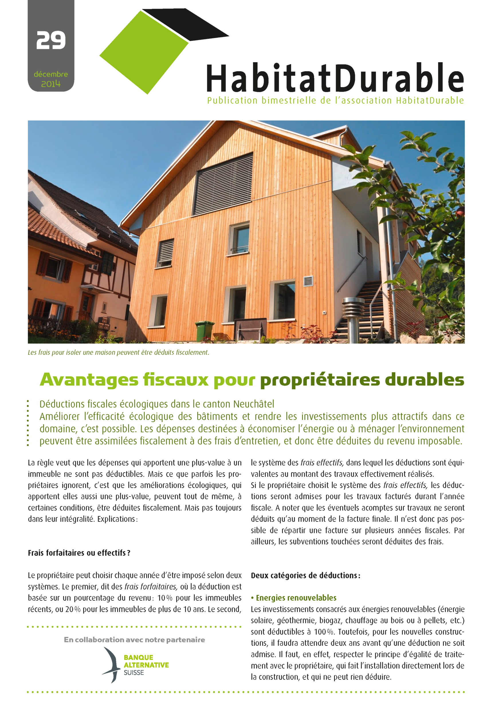 HabitatDurable 29 | décembre 2014