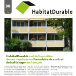 HabitatDurable 30 | mars 2015