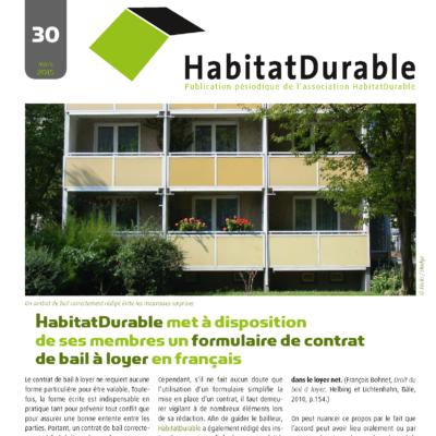 HabitatDurable 30 | mars 2015