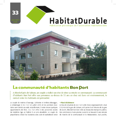 HabitatDurable 33 | septembre 2015