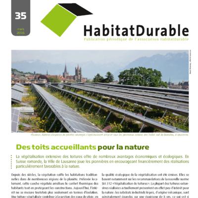 HabitatDurable 35 | mars 2016