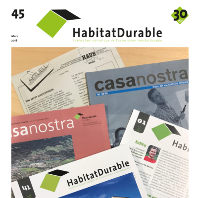 HabitatDurable 45 | mars 2018