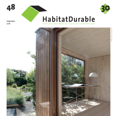 HabitatDurable 48 | sep­tembre 2018