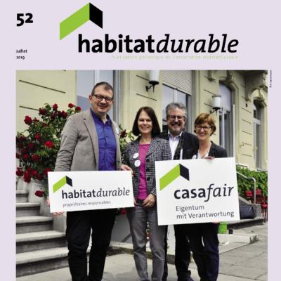 HabitatDurable 52 | juillet 2019